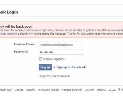 Facebook will be back soon. Facebook is down for some users? Here is why....